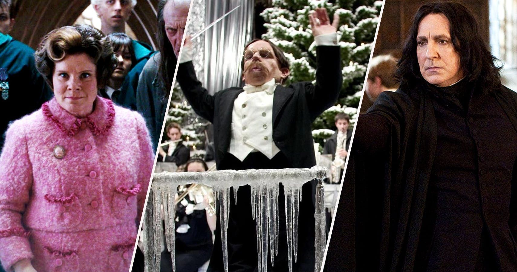 Harry Potter 24 Professors Ranked From Weakest To Most