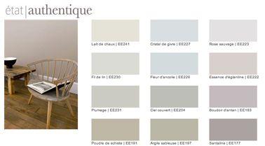 Nuancier Peinture Couleur Lin Et Couleurs Naturelles Collection Etat  Du0027Esprit De Tollens