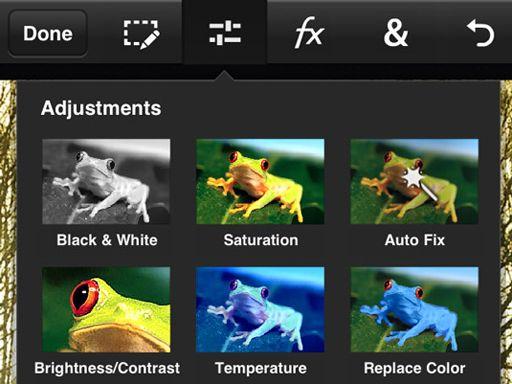 Iphone photo editor app, Camera