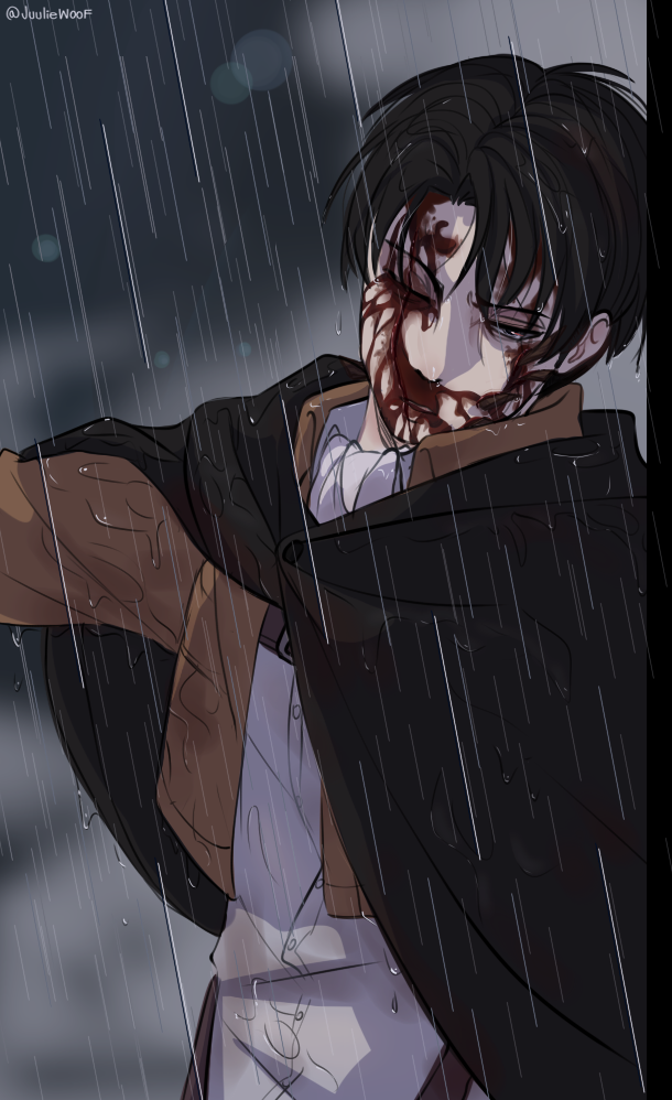 Levi | Attack on Titan by JuulieWoof on DeviantArt