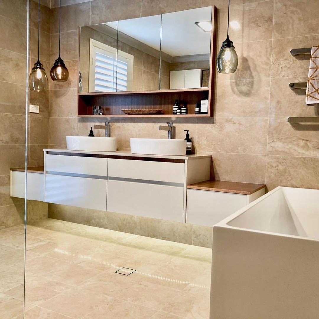 Amber tiles kellyville modern traditional bathroom renovation using