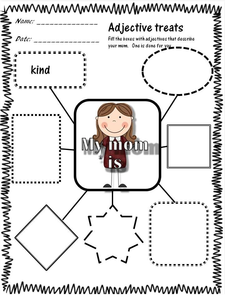 a unit with four activities and three writing prompts for