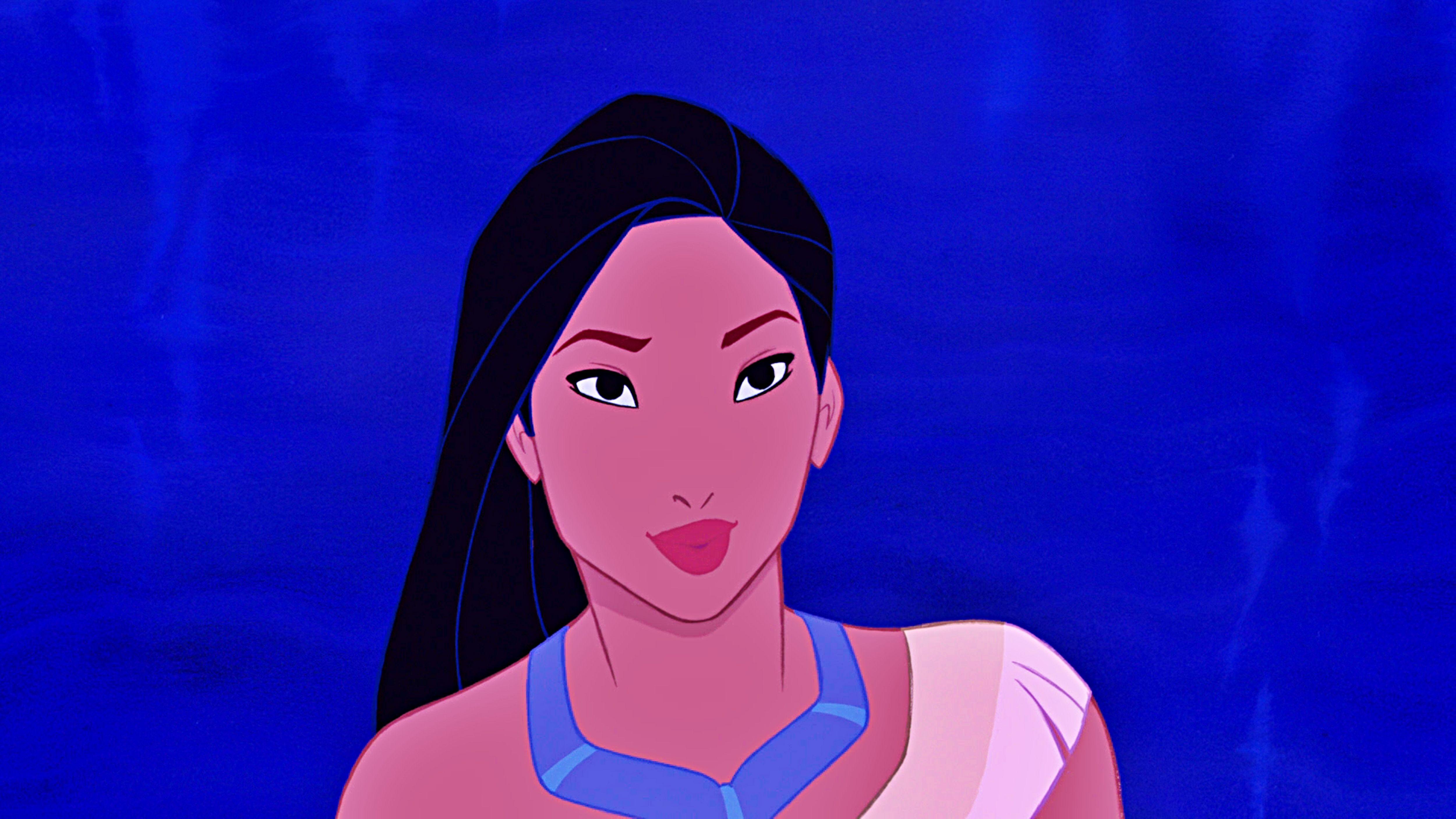 Disney Princess Pocahontas Cartoon