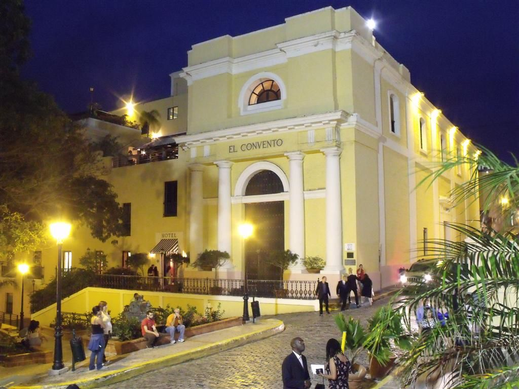 San Juan Accommodations - Hotel El Convento