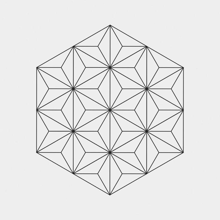 Картинки по запросу сложный рисунок из геометрических ...