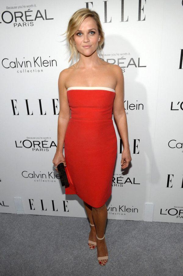 Fabulously Spotted: Sarah Winter Wearing Calvin Klein