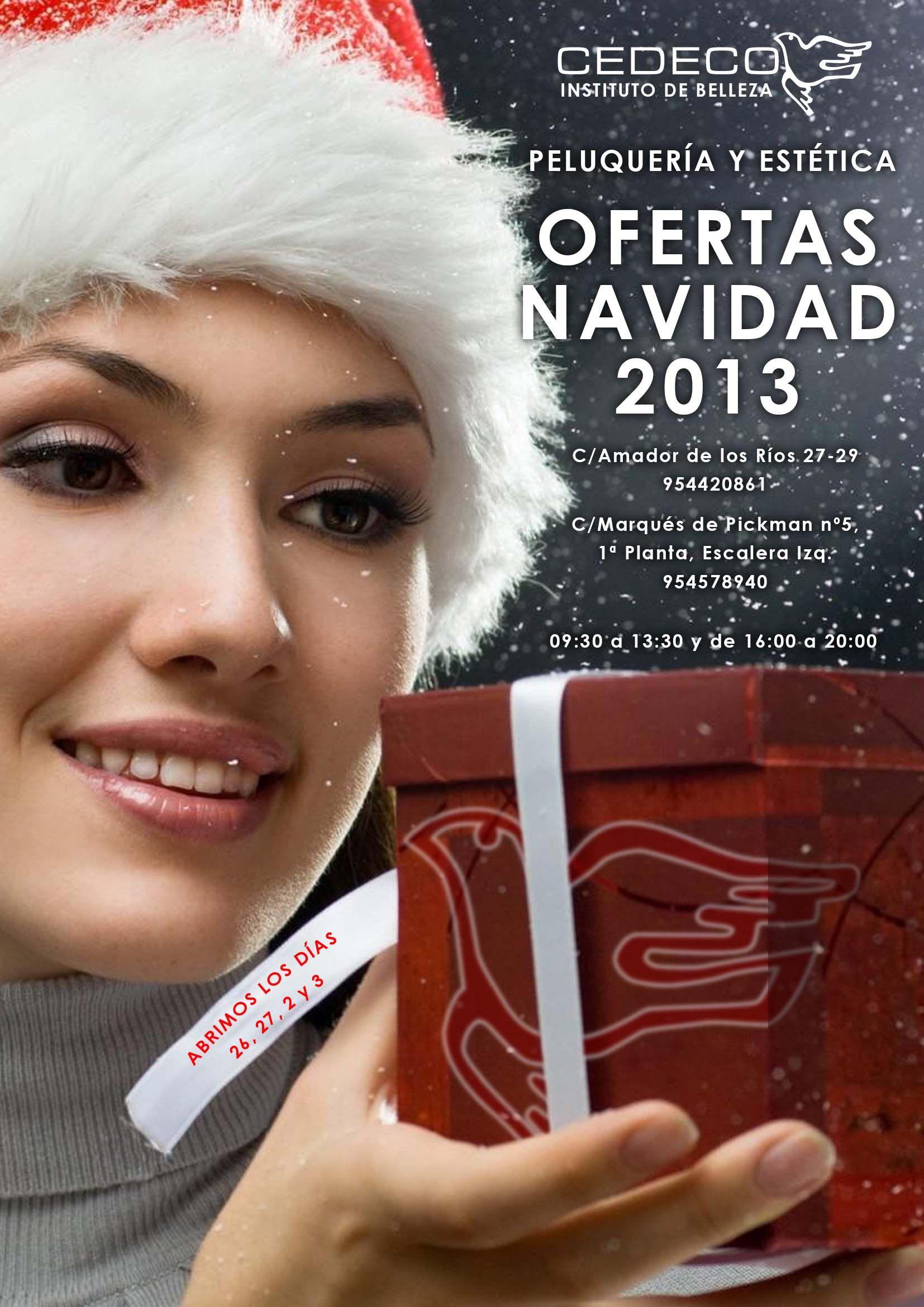 Portada Catálogo Regalos De Navidad De Peluquería Y Estética De Cedeco Estetica Peluqueria Belleza