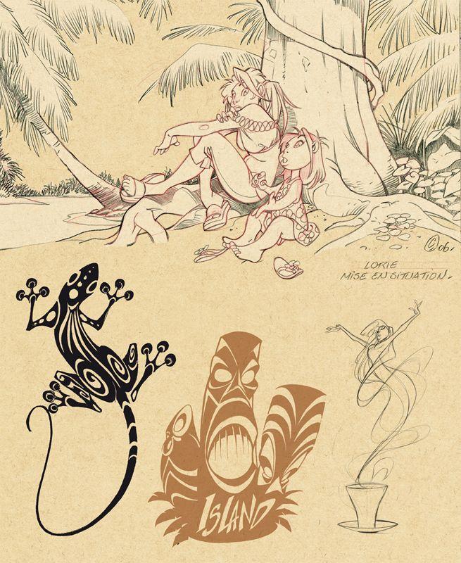 juanjo guarnido sketchbook - Google Search