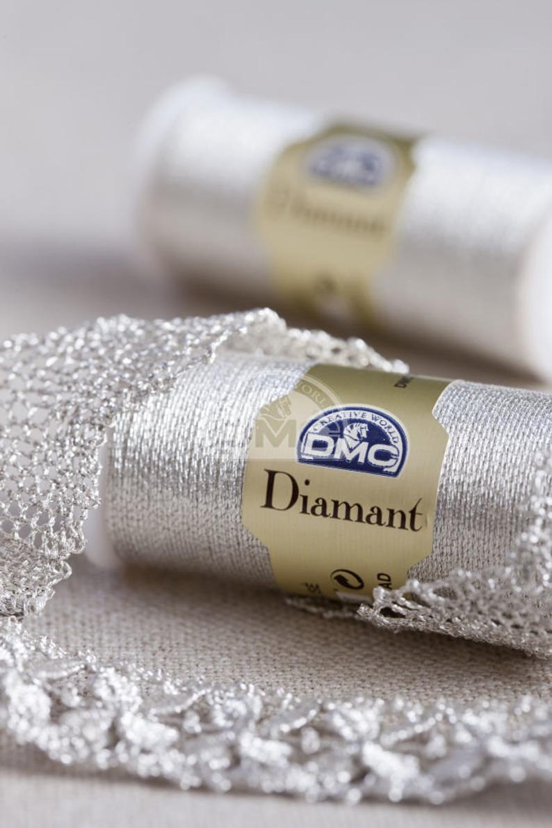 Dmc Diamant : diamant, Diamant, Metallic, Thread, Embroidery, Thread,, Cross, Stitch