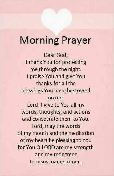 Morning Prayer Quotes Morning Prayer  Prayers  Pinterest  Morning Prayers Amen And Bible