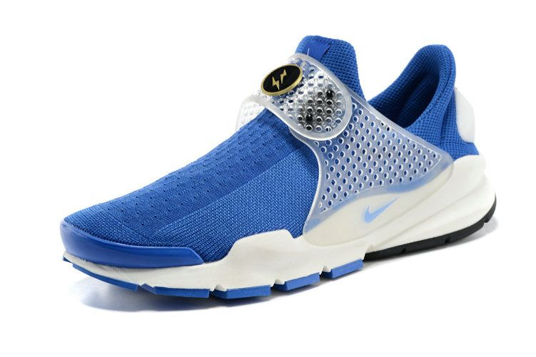 official photos b435f a0700 Hot Sale Nike Sock Dart Oreo Slip ON Royal White Runing ...