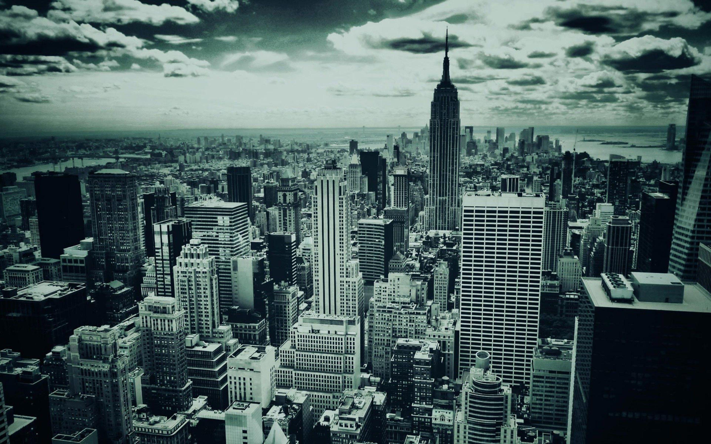 Dark New York Hd Wallpapers New York Wallpaper Manhattan