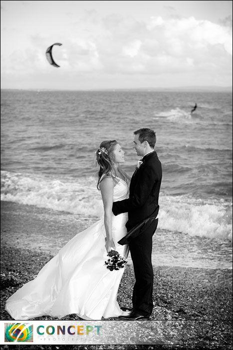 Coastal Wedding at Christchurch Harbour Hotel, Dorset
