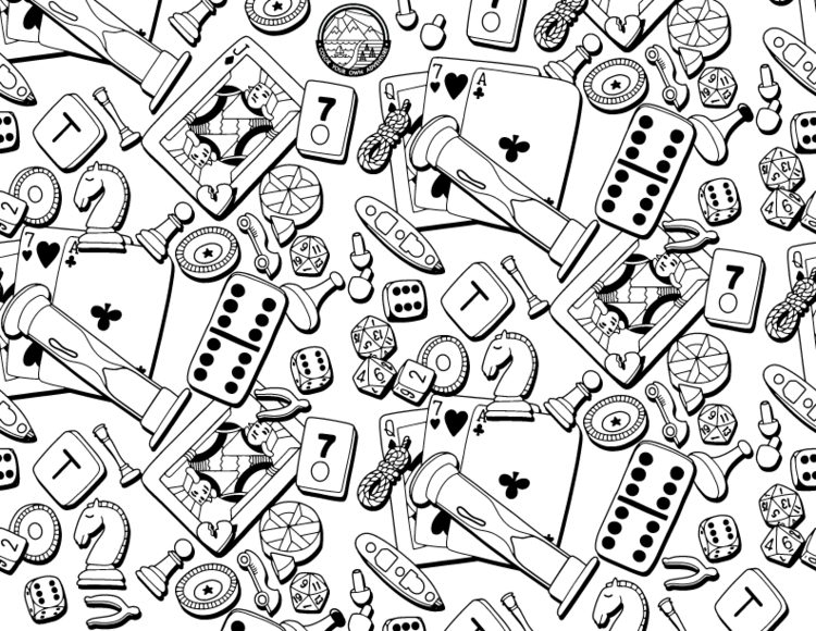 Board Game Coloring Page In 2020 Coloring Pages, Coloring Sheets, Crystal  Art