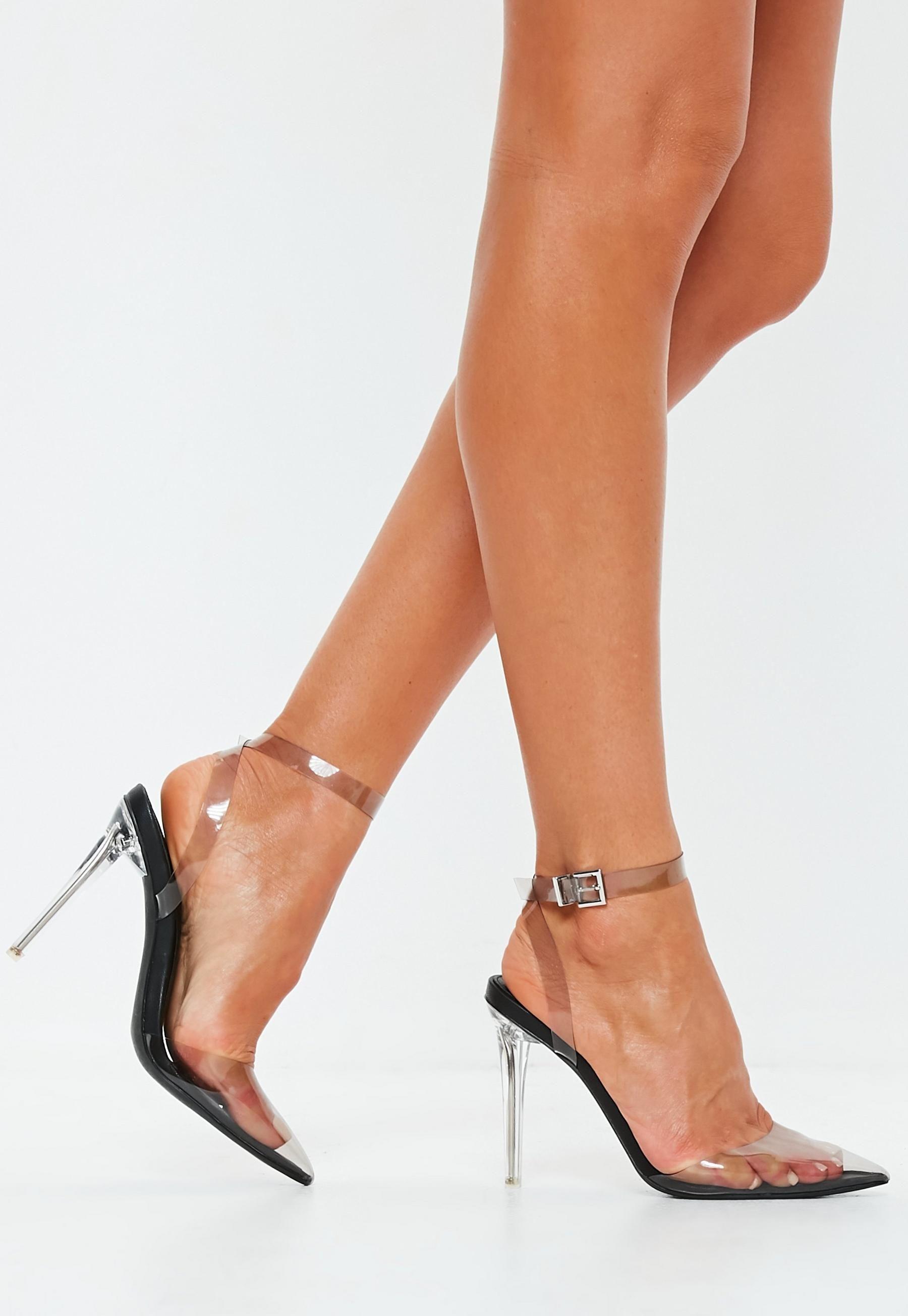 36a1a26492d Black Clear Pump Shoe Heels in 2019 | S/S 2019 Wardrobe Inspo ...