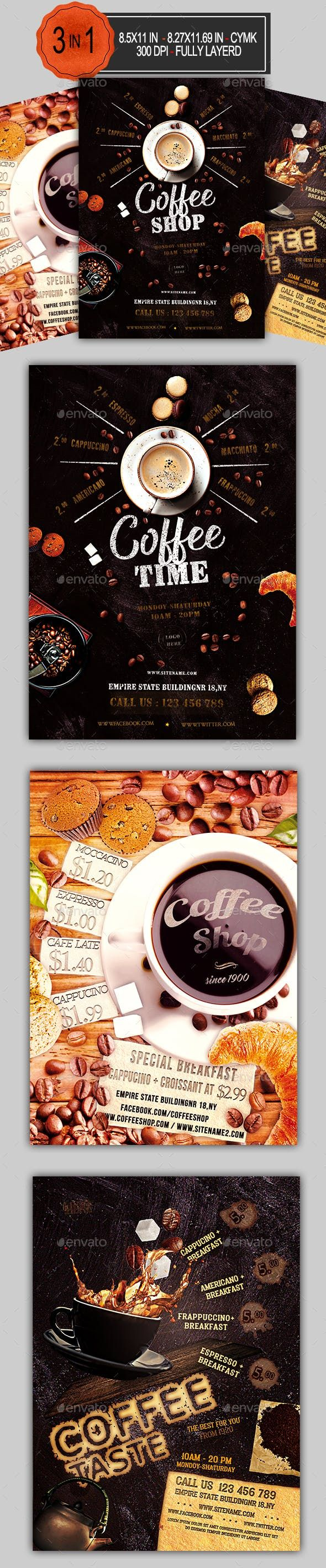 Mouth-Watering Restaurant Menu Designs | EntheosWeb |New Coffee Shop Flyer