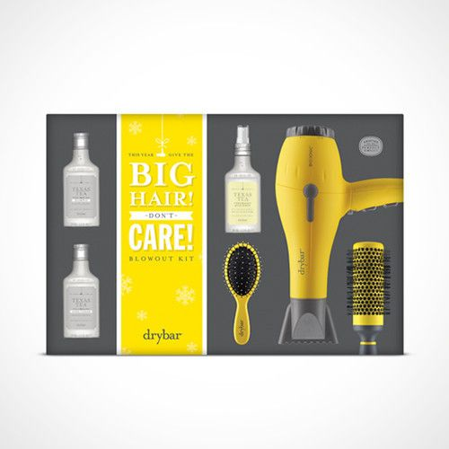 Big Hair Don T Care Blowout Kit The Perfect Gift Drybar Big Hair Dont Care Big Hair Holiday Gift Sets