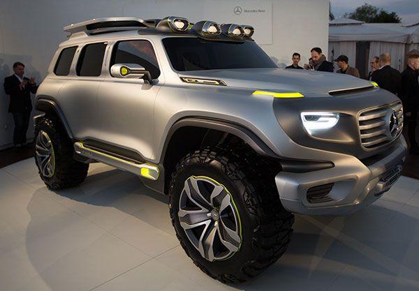 Mercedes Benz Ener G Force Concept Car Notcot Mercedes Benz