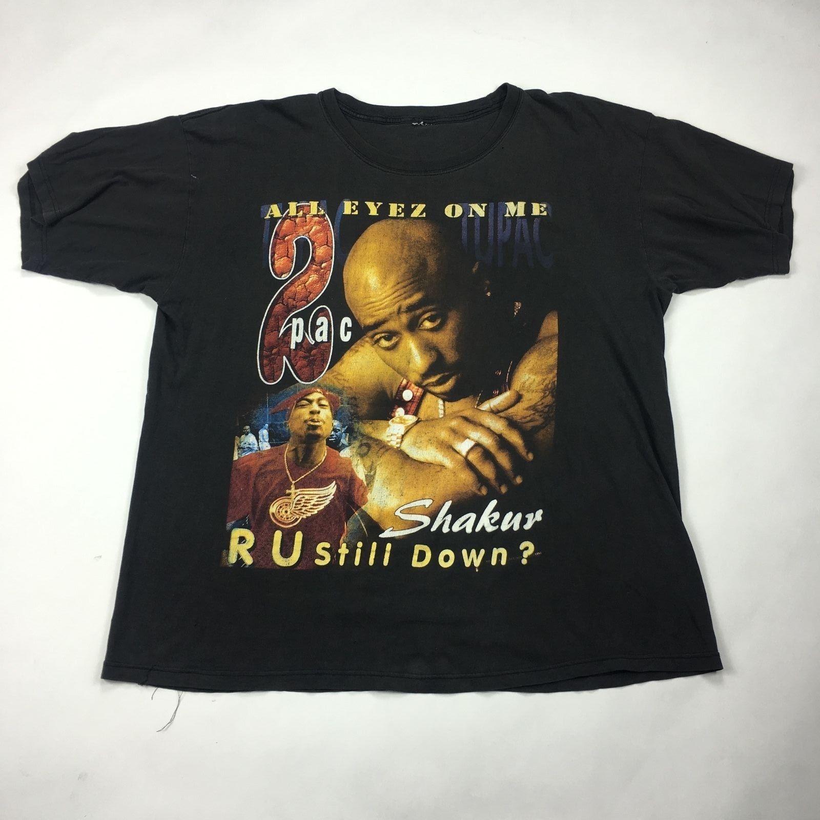2pac R U Still Down Vintage T Shirt Sz Xl Vintage Tshirts Vintage Shirt Design Vintage Tee Shirts