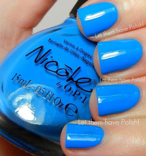 Nicole By O P I I Sea You And Raise You Nicole By Opi Nail Colors Nail Polish