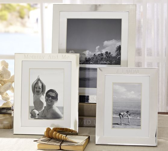 Silver-Plated Engravable Frames | Pottery Barn | Home Goodies ...