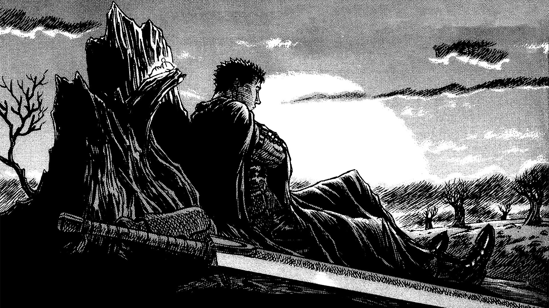 Anime Berserk Wallpaper Ilustração de mangás
