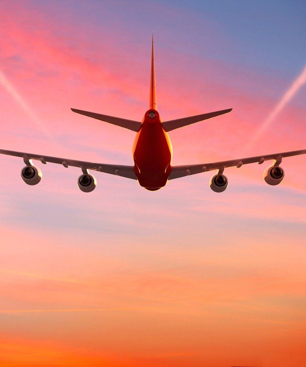 Картинка счастливого пути самолет, днем