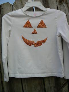 Ship Shops & Pop Pops: halloween glitter shirt