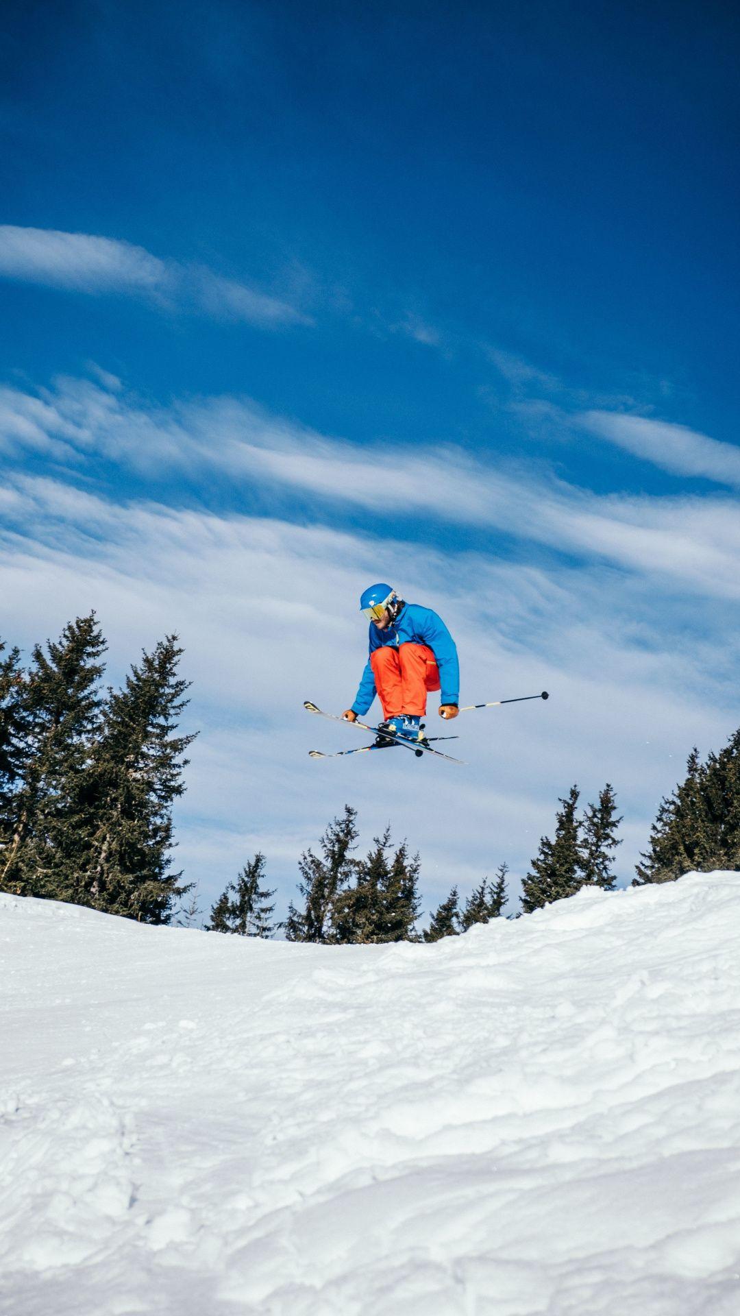 Sports Winter Skiing 1080x1920 Wallpaper Wallpaper Mountain Wallpaper Free Hd Wallpapers