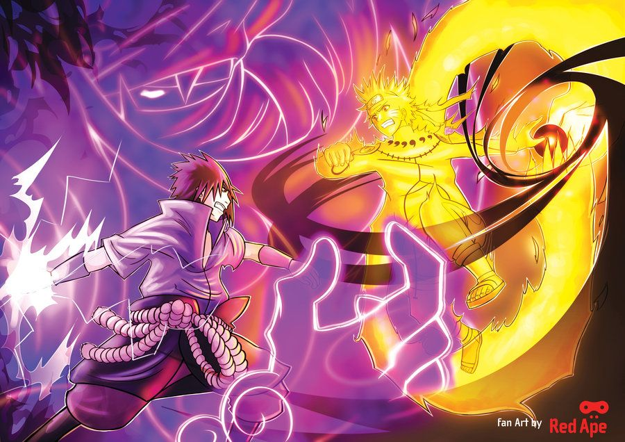 GambarFotoNarutoVsSasuke5.jpg (900×636) Anime
