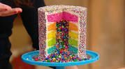 Photo of How To Make the Ultimate Rainbow Surprise Cake –  How To Make a Rainbow Layer Ca…