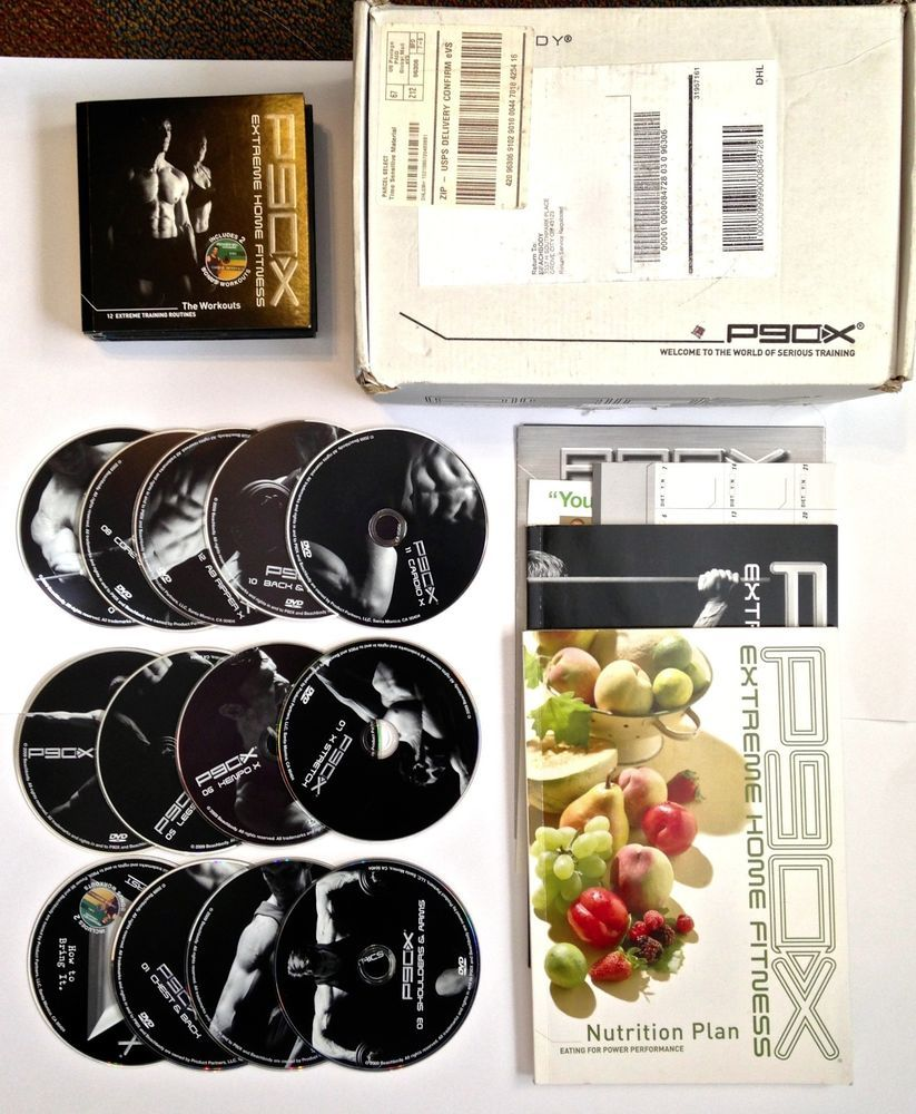 P90X EXTREME HOME FITNESS COMPLETE KIT