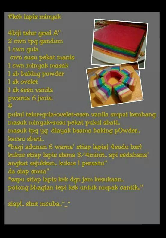 Kek Lapis Minyak