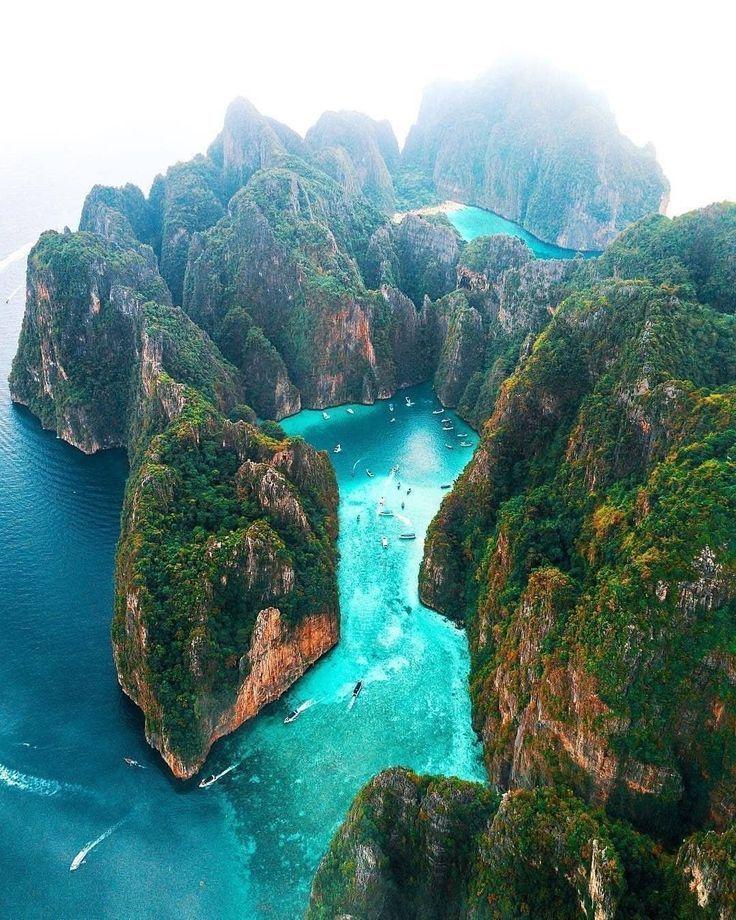 Thai Island Koh Phi Phi: Phi Phi Islands, Thailand In 2019