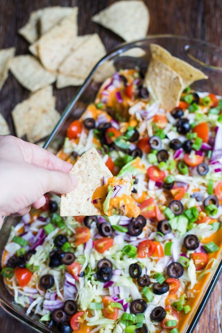 Vegan Seven Layer Dip This Party Appetizer Is Completely