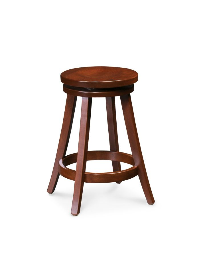 Portland Swivel Barstool From Simply Amish Furniture