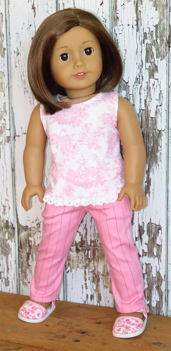 Tank top and pants American-girl-doll -18-inch   Doll Clothes ...