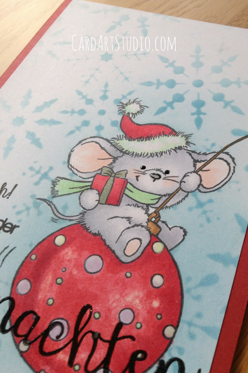 Stamp From Wild Rose Studio Coloured In Copics With A Greeting By
