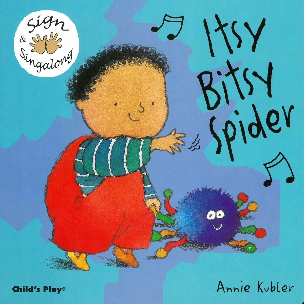Itsy Bitsy Spider Sign Amp Singalong Board Book