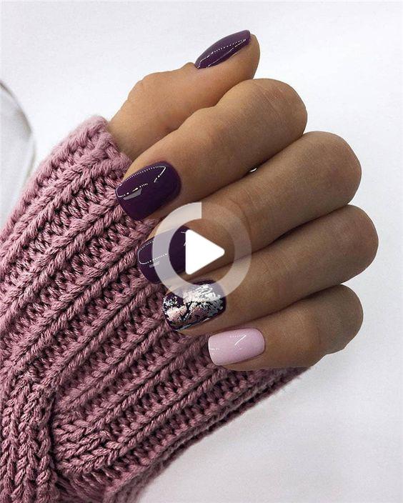 Nails; Natural Nails; Solid Color Nails; Acrylic Nails; Cute Nails;Wedding Nails… –  – #acrylic