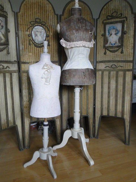Antike Kinder Schneiderpuppe Schneider-Büste Dress Form Mannequin 105cm
