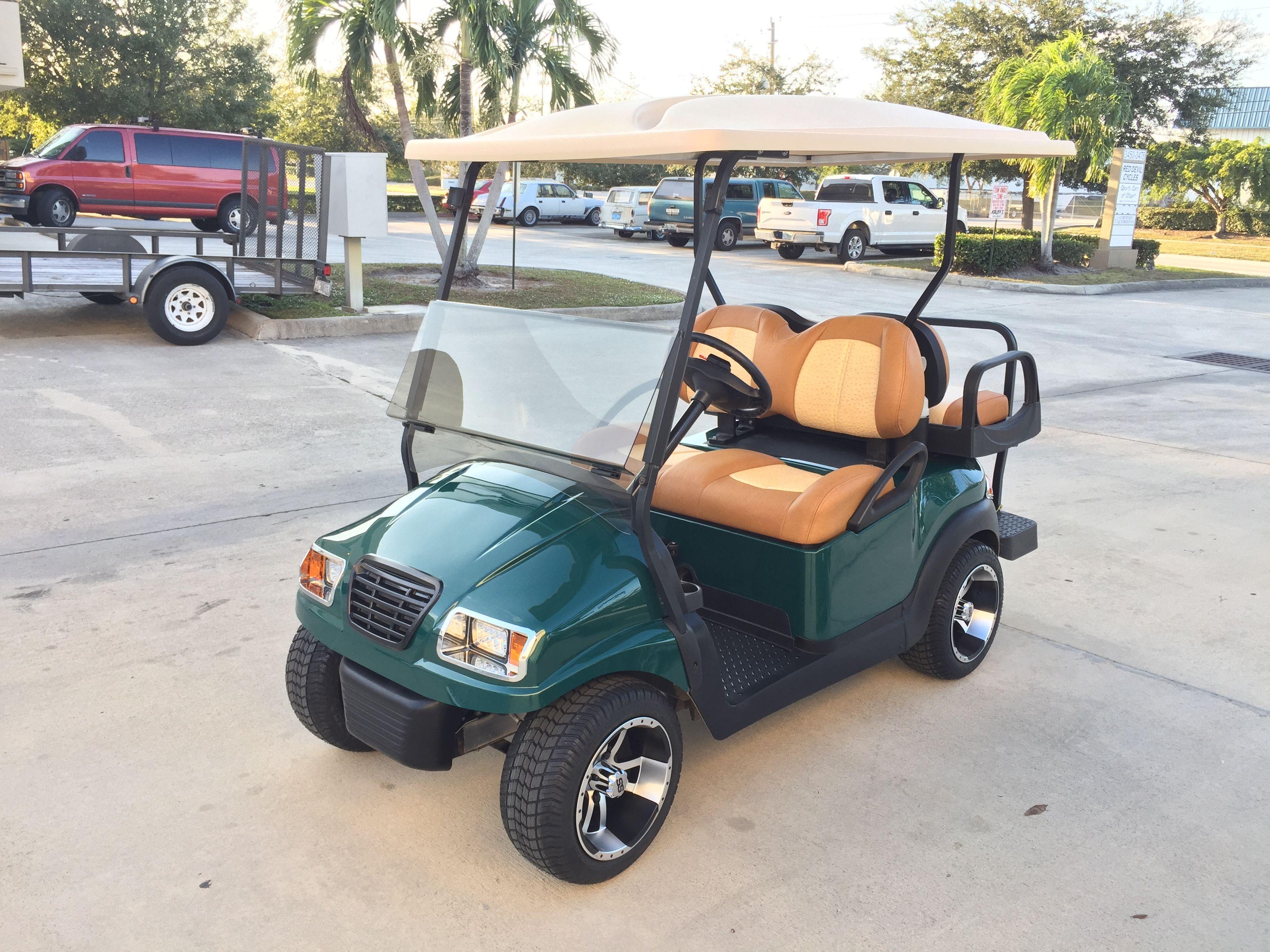 Custom Club Car Precedent Phantom Custom Golf Carts Golf Carts Bike