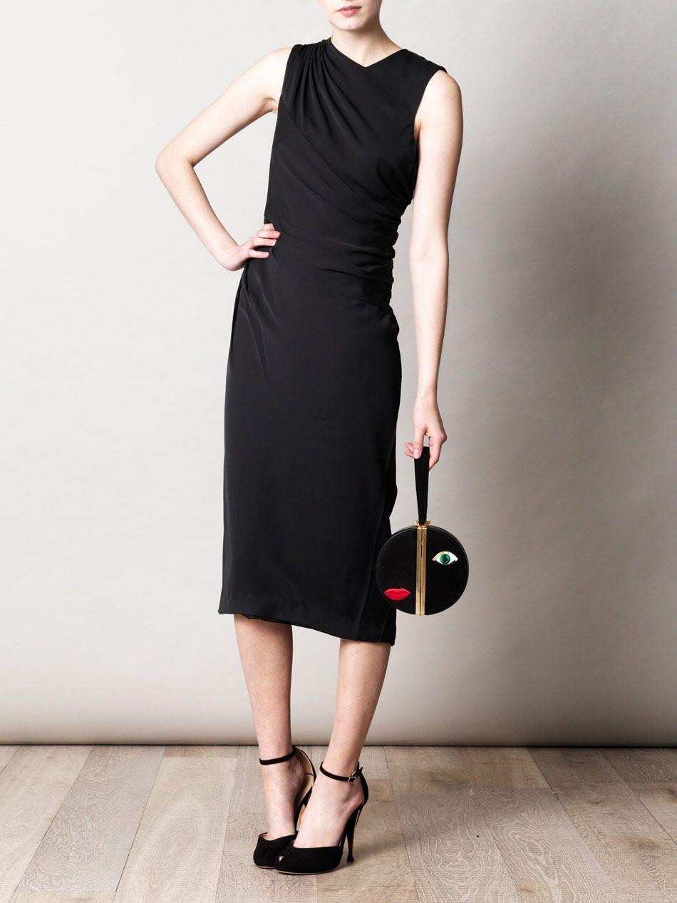 DIANE VON FURSTENBERG Leslie velvet dress  LBD  Pinterest  Lbd