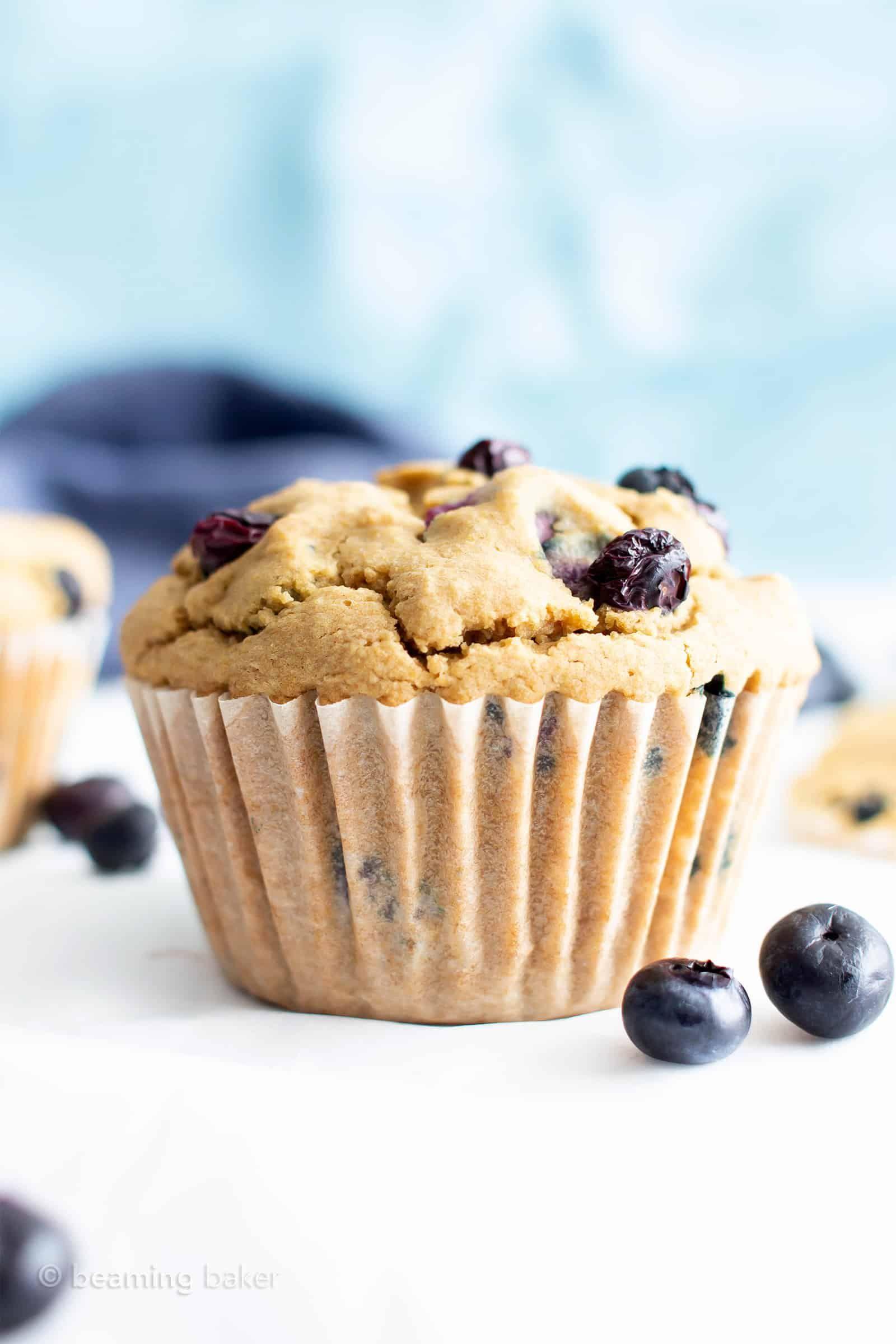 Healthy Moist Blueberry Muffins Recipe V Gf This Gluten Free