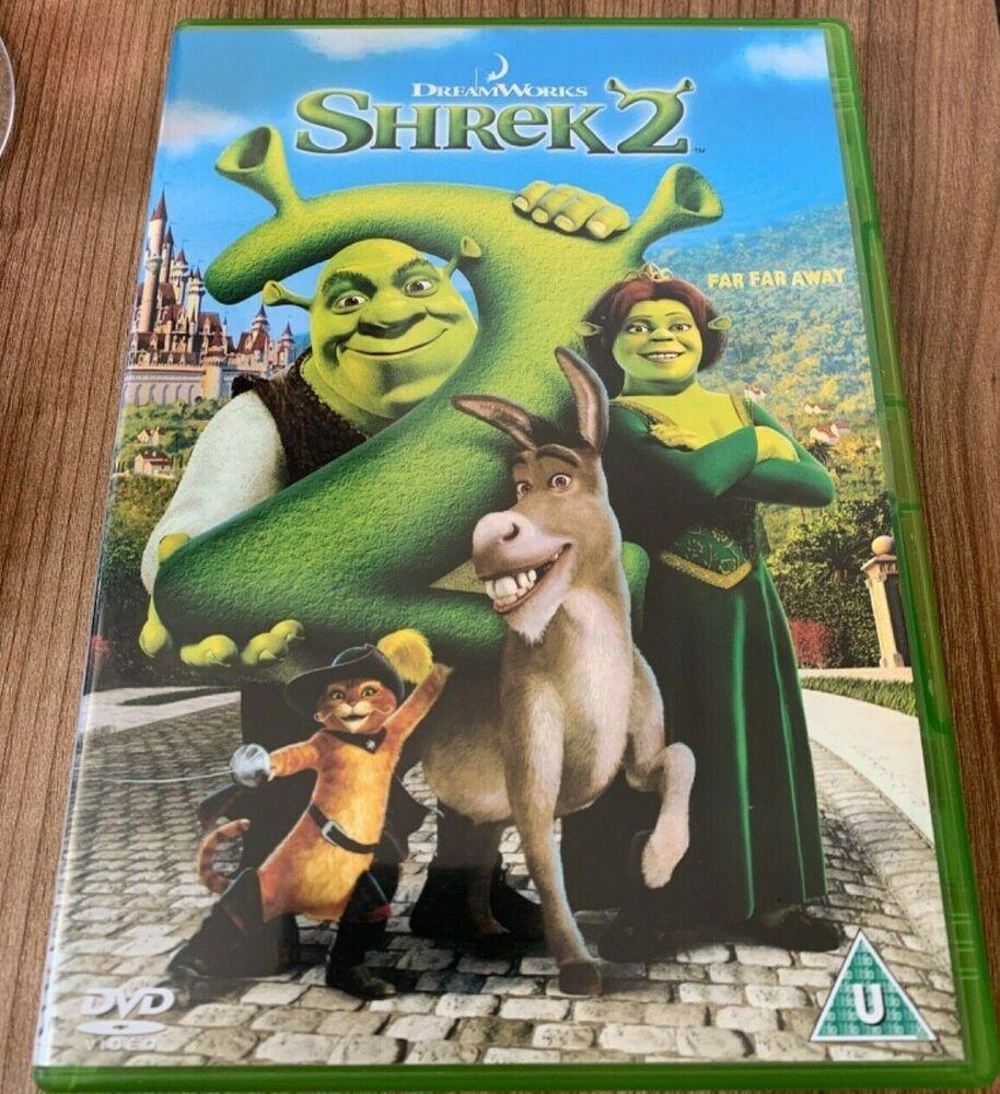 Shrek 2 Dvd 2004 Mike Myers John Cleese Rupert Everett Dvd For Sale Online Ebay Shrek Dvd Dreamworks Animation