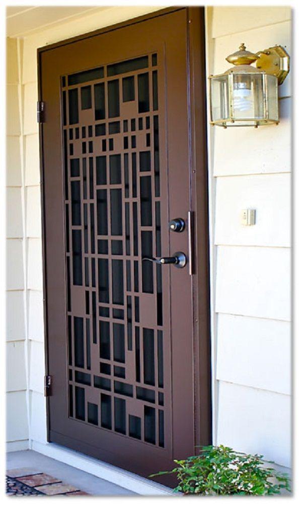Image Result For Craftsman Security Door Security Screen Door
