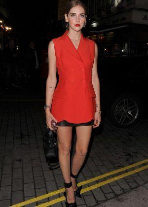 Chiara Ferragni - Christian Dior Cruise Afterparty in London