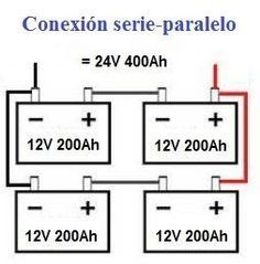 Conexion Serie Y Paralelo De Bater 237 As Automatizacion