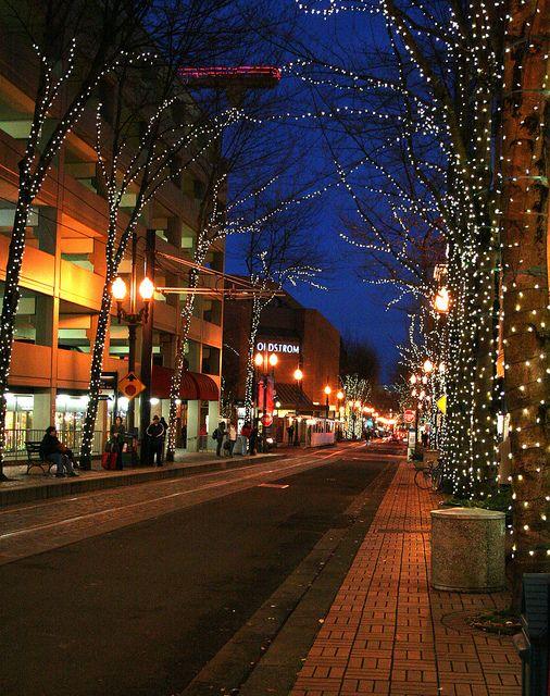 Downtown Portland Holiday Lights Holiday Lights Downtown Portland Holiday