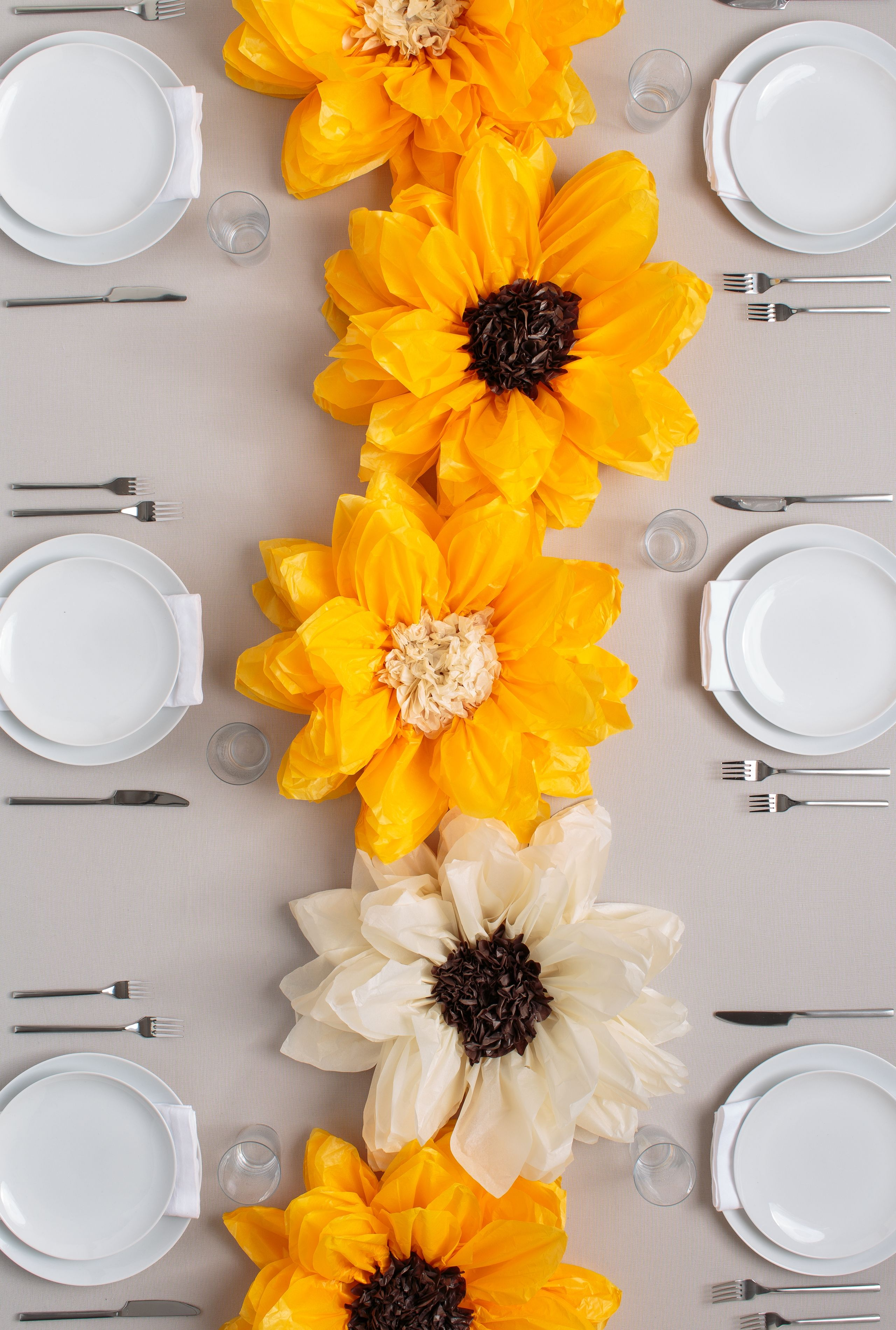 brighten up your brunch plans with these diy flower pom poms available at joann stores. Black Bedroom Furniture Sets. Home Design Ideas